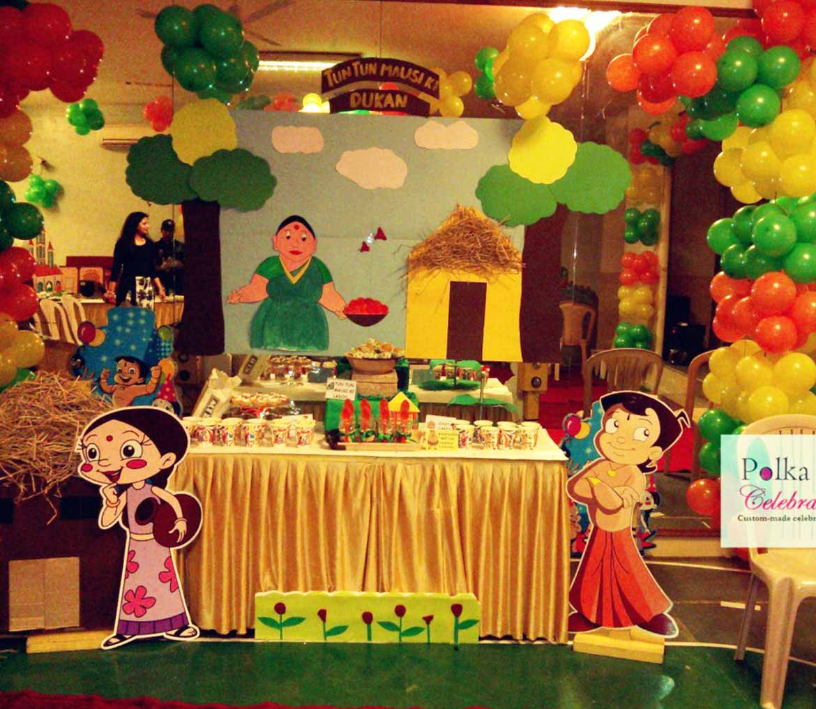 Chota Bheem Theme Aditi Events