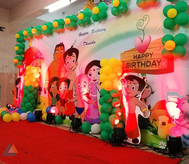 Chota Bheem Theme Aditi Events